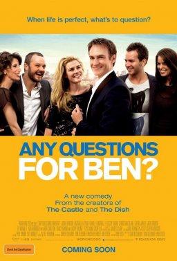 Някакви въпроси за Бен?