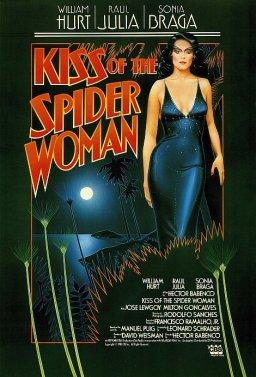 Целувката на жената паяк