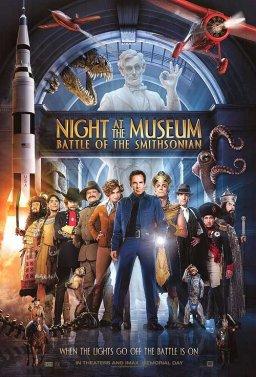 Нощ в музея 2: Битката за Смитсониан