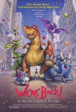 Четири динозавъра в Ню Йорк